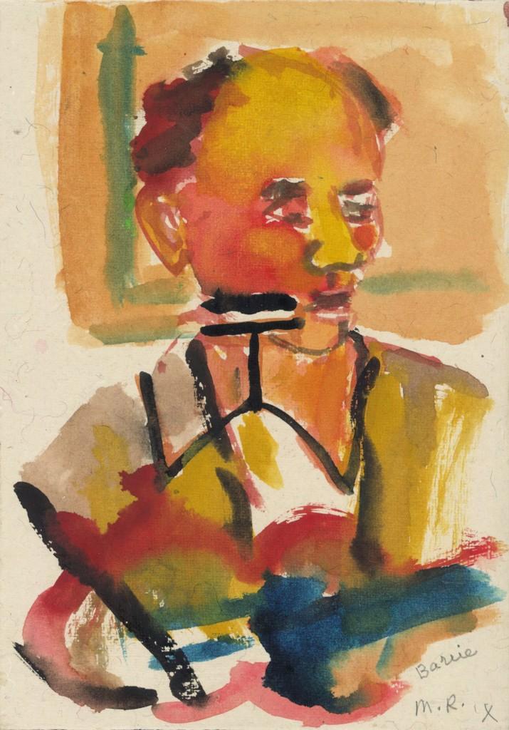 Barrie, 1998 (tempera, 18 x 12 cm)