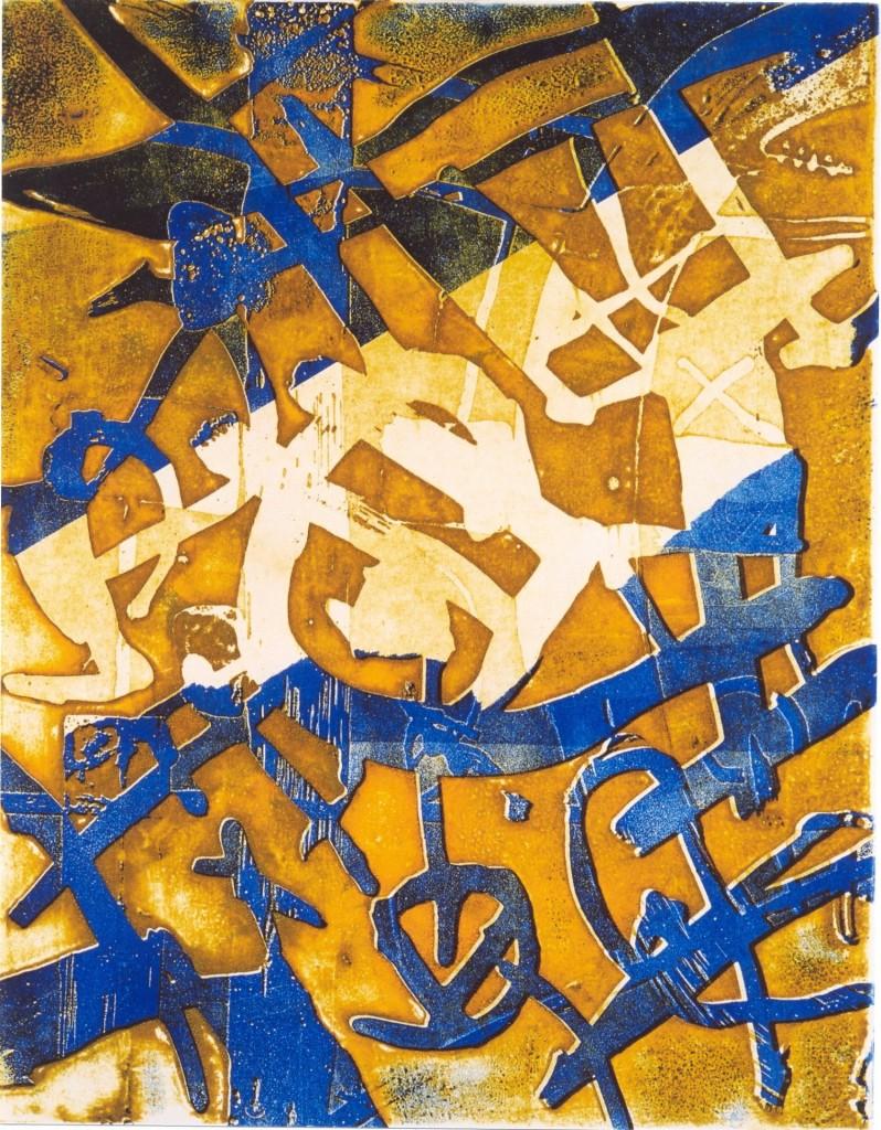 Bevrijding, 2002 (aquatint mono-print, 29,5 x 23,5 cm)