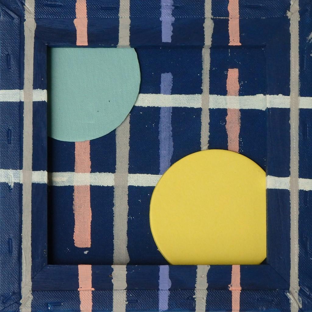 maneschijn, 2015 (acryl op linnen, 24 x 24 cm)