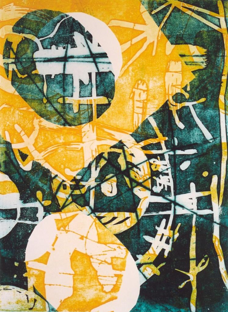 Noen, 2002 (aquatint mono-print, 39,5 x 29,5 cm)