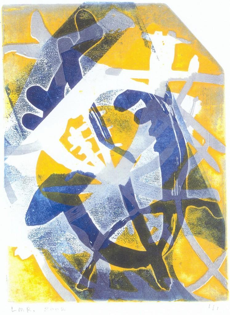 Vrijheid, 2002 (aquatint mono-print, 22,5 x 16,5 cm)
