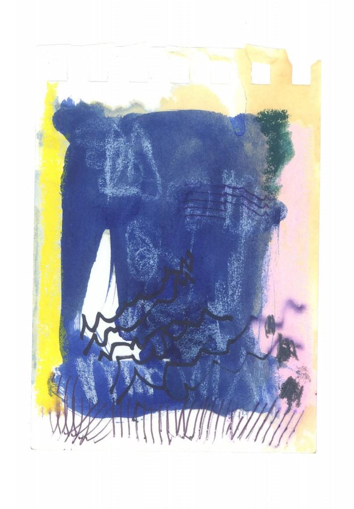 z.t., 2010-12 (gemengde techniek op papier, 11,5 x 9 cm)