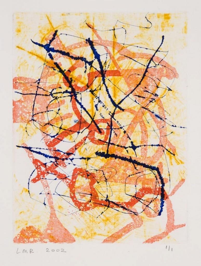 Zoektocht, 2002-02 (ets-aquatint monoprint, 57 x 47 cm)