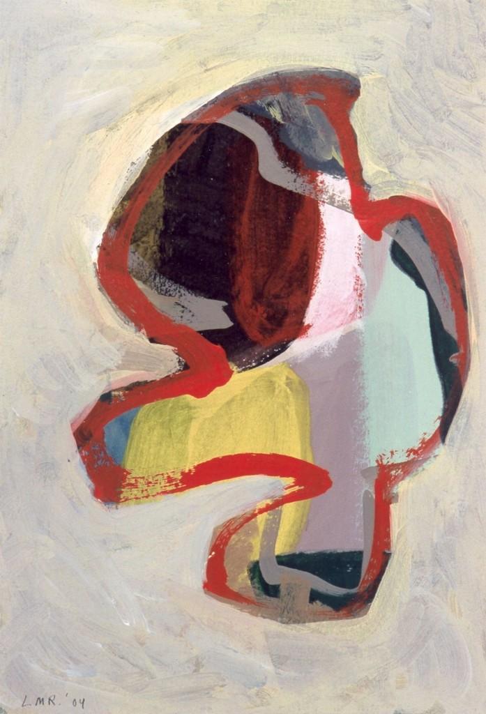 zonder titel, 2004-03 (gouache, 36,5 x 25,5 cm)