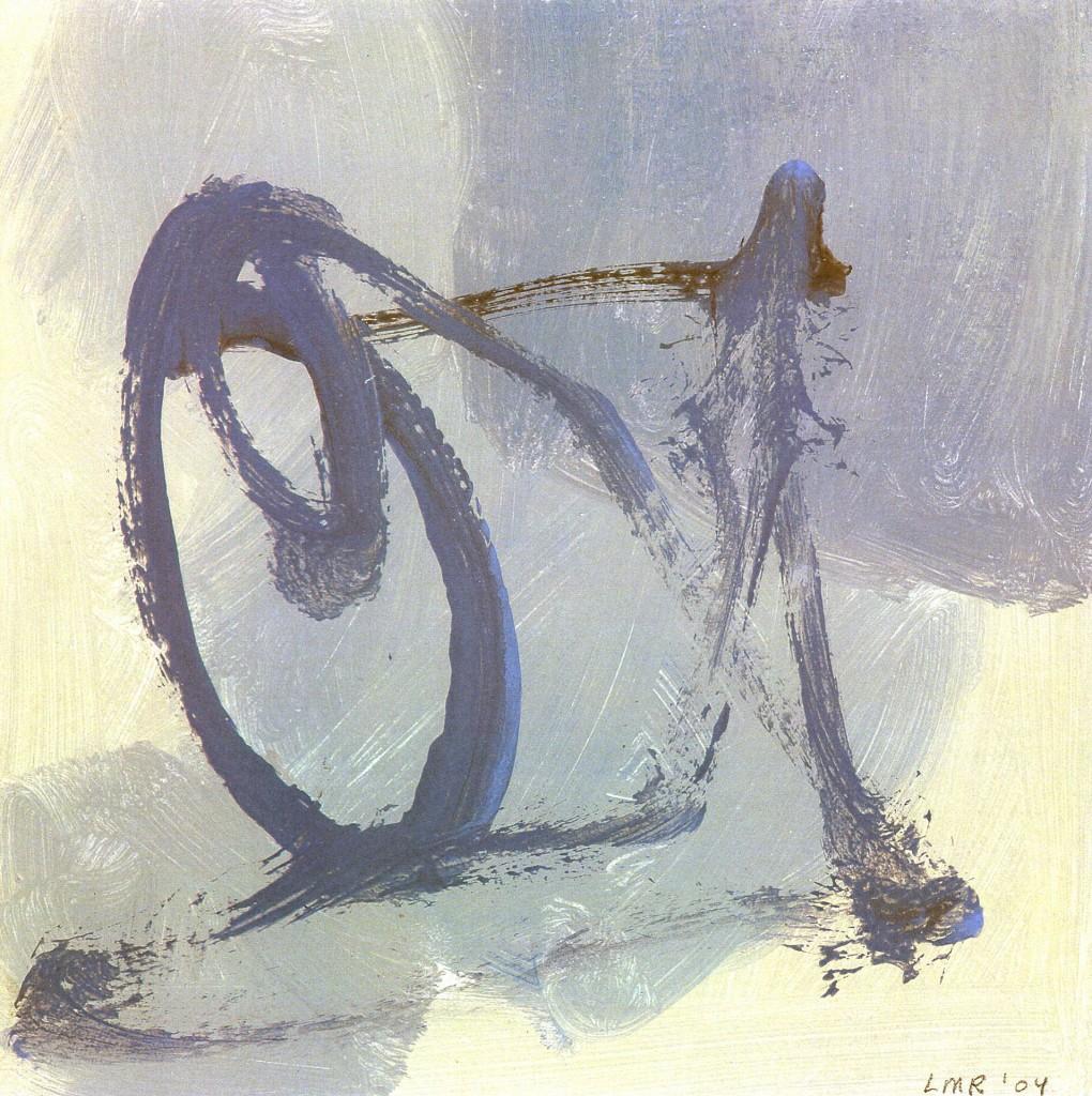 Fiets, 2004-05 (gouache, 52 x 42 cm)