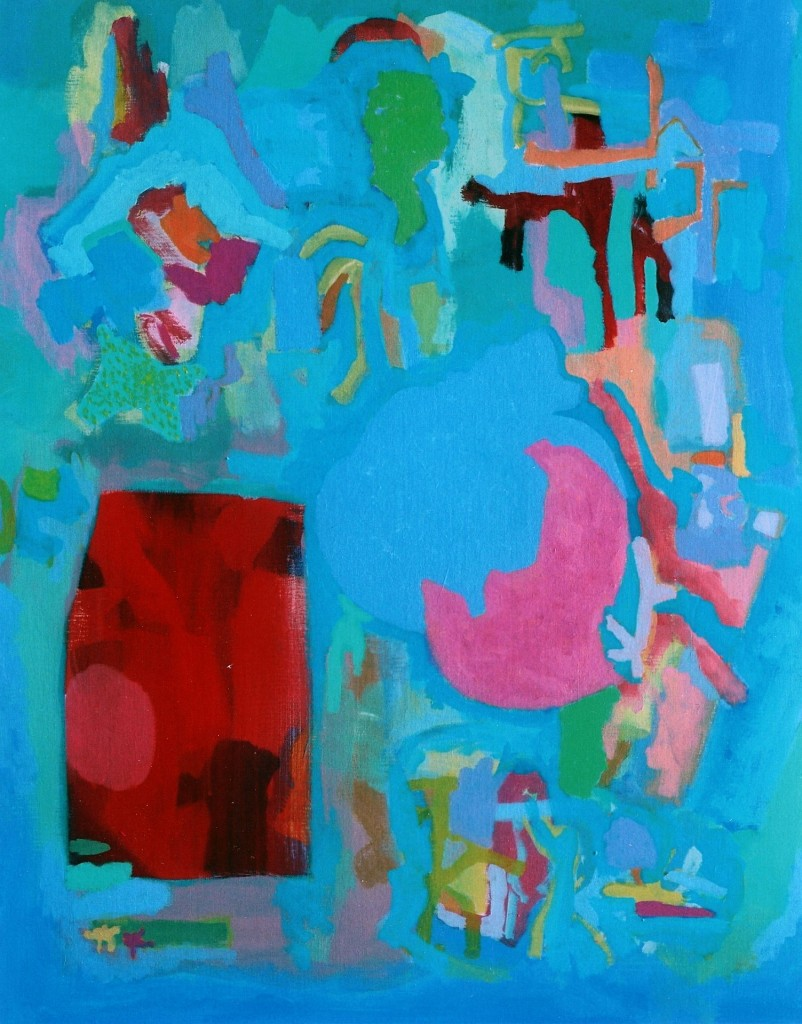 zonder titel, 2006-06 (acrylverf op linnen, 100 x 80 cm)