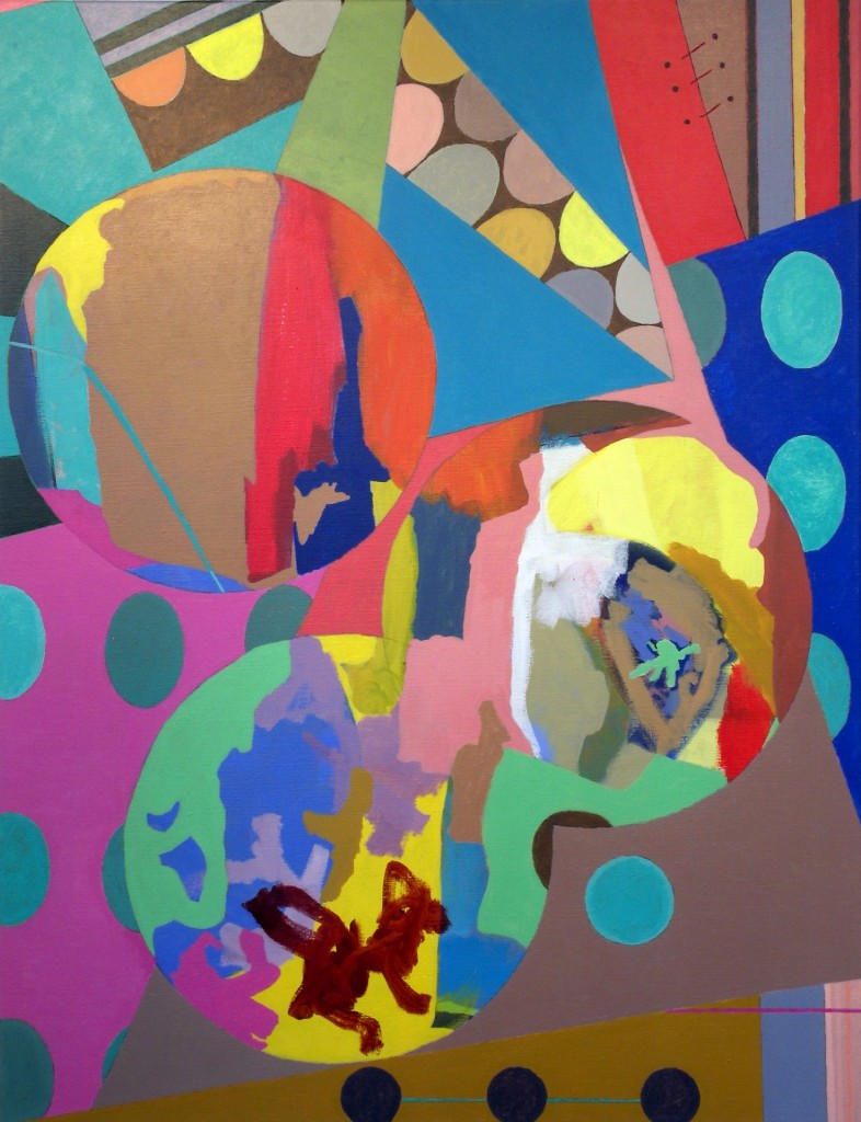 Ruimtevaarders, 2006-10 (acrylverf op linnen, 130 x 100 cm)